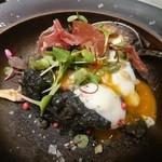 KOTOBUKI - 温玉とろけるイカ墨ポテトサラダ