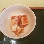 韓国家庭料理 ソナム - 白菜キムチ