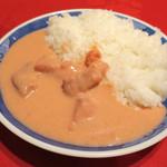 ブッフェレストラン ポルト - ピンクカレー