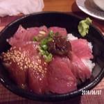 51977567 - 鮪三色丼