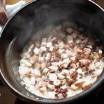 和しょく えびはら - タコの炊き込みご飯