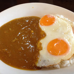 CBカレーキッチン - 目玉焼カレー¥730