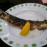 居酒屋 嵯峨 - 秋刀魚の塩焼き