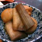 居酒屋 嵯峨 - 里芋の煮物