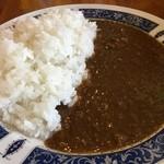 カナディアンロッキー - ランチステーキのカレー(中)