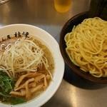 めん屋 桔梗 - 塩つけ麺(特盛)@850円