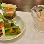 料理処 上東 - 料理写真:前菜