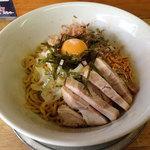 油そば専門店 noodle SPUNKY -        油そば(小/並/大)780円。これは小。
