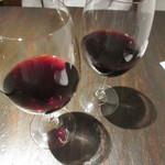 ピチュ - 1杯目の赤ワイン