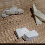 ピチュ - チーズの盛り合わせ