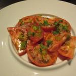 ピチュ - 「わさび風味フルーツトマトサラダ」