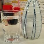 磯吉 - 「日本酒(常温)」¥480税別