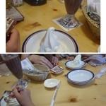 コメダ珈琲店 - 3回目は長女&チビたちと。 テーブルの上が乱雑でスミマセンm(__)m