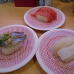 かっぱ寿司 - 鯵・いか・マグロ¥97