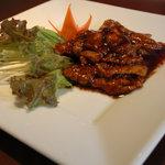 瀘川 - 豚肉の味噌炒め