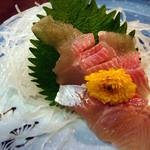 520528 - 岩魚(いわな)の刺身←めちゃうま!絶品