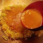 お好み焼き文字平 - 料理写真:もんじゃ焼き、みんなで楽しく食べてください。