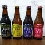 シルバンズ - 富士桜高原麦酒「シュヴァルツ・ヴァイツェン」「ピルス」「ラオホ」「ヴァイツェン」
