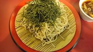 丹波屋 - ざる蕎麦350円