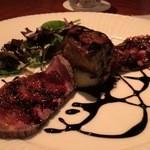 52002173 - 牛赤身肉のローストビーフ フランス産フォアグラ添え