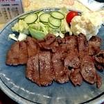 大和屋 - 牛たん漬、キャベツのごま油あえ、ポテトサラダ