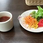 イタリアントマトクラブファースト - スープ&サラダ