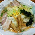 華川ラーメン - 料理写真:白みそ野菜:700円