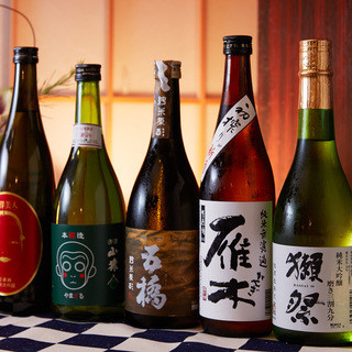 山口県の美味しい地酒を。
