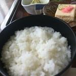 小松島保養センター 長楽苑温泉 - ご飯