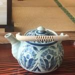 小松島保養センター 長楽苑温泉 - 急須でのお茶のサービス