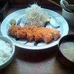 櫻守 - 特ロースカツ定食 1,785円