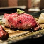 Tenkuunotsuki - 和牛の炙り握り