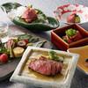 レストランあしや竹園 - 料理写真:テーブル席黒毛和牛食べくらべコース