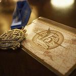 テディ・ルーズヴェルト・ラウンジ - ワインメダルとエチケット