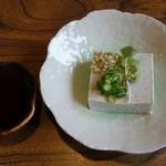 わへいそば - 蕎麦豆腐216円