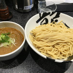 麺屋とがし 龍冴 - えびつけ麺 特盛り 800円