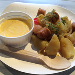キリンガーデン - とろける7種チーズ〜北海道ポテトとソーセージ〜