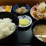 文化亭 - 料理写真:日替り定食。