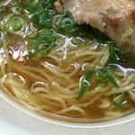 麺匠うえ田 - 煮干しが効いたスープ (2016年6月 さいたま新都心ラーメンフェスティバル)