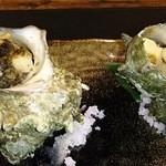 魅惑の酒屋 mikami - サザエのエスカルゴ風バターソース