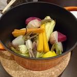 野菜と魚を楽しむ店 華 -
