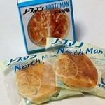 千秋庵 - 料理写真:ノースマン・2個入り(342円)