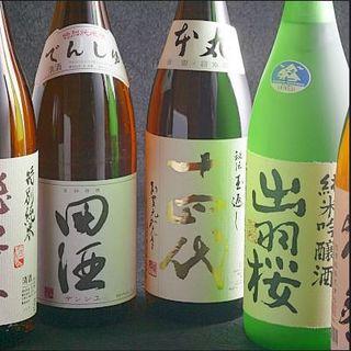 厳選!日本酒のラインナップ!!