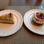 52021414 - 再訪通常のデセールを本日のケーキにバージョンアプー