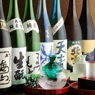 当店は日本酒の種類も豊富です!愛知県の地酒は7種類をご用意。