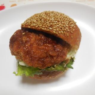 ブーランジェリー リール - 料理写真:プチロースかつサンド ¥160+税