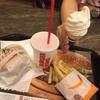 バーガーキング - 料理写真:ツレはソフトクリームだけ…