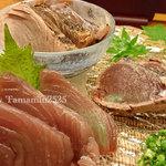 Honoka - カツオ三種盛
