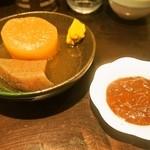 初かすみ酒房 - おでん&柚子味噌
