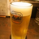 初かすみ酒房 - 生ビール